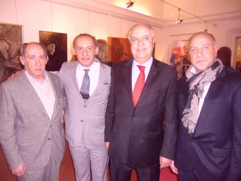 S. E. Hassan Abouyoub, Amb. del Regno del Marocco