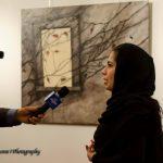 RAGAZZA IRAN TELEVISIONE