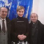 S. E. AMBASCIATRICE KOSOVO PROF. ALFIO MONGELLI STAF ASSOCIAZIONE ARTISTICAMENTE